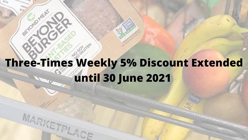 MarketPlace Extends Discount Until June 2021 Bermuda March 2021