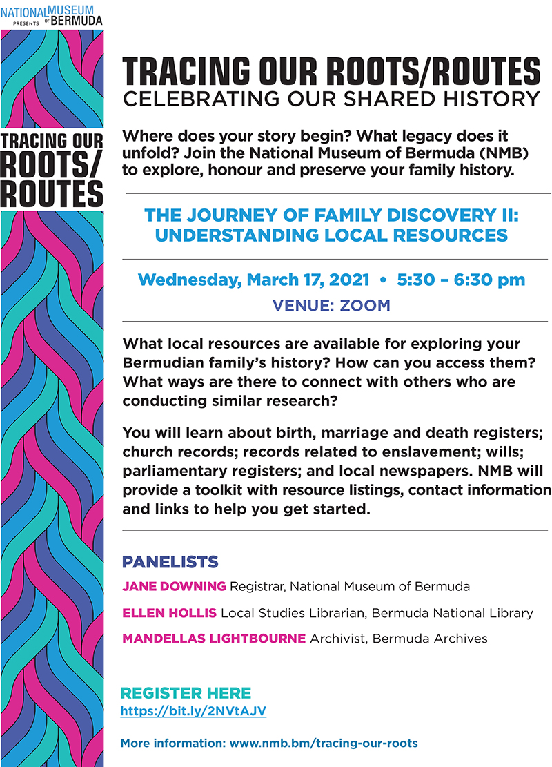 NMB The Journey Of Family Discovery Part 2 Bermuda March 2021