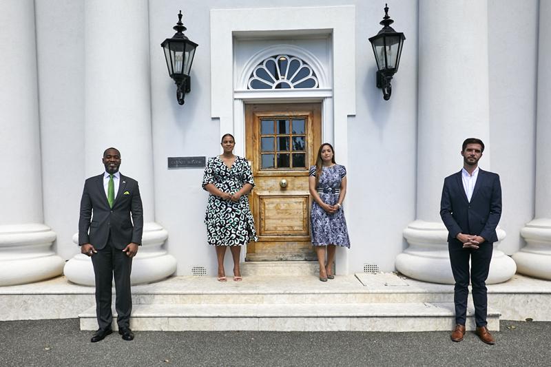 Premier Burt and Senator Hodgson press conference Bermuda March 11 2021