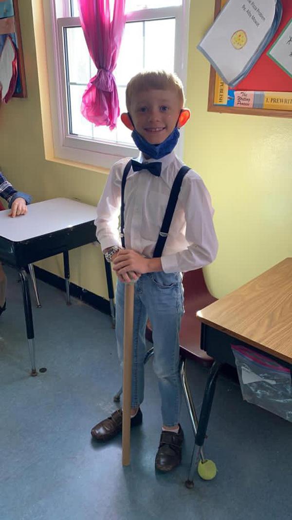 SGPS Celebrates 100 Days Of School   Bermuda March 2021 (28)