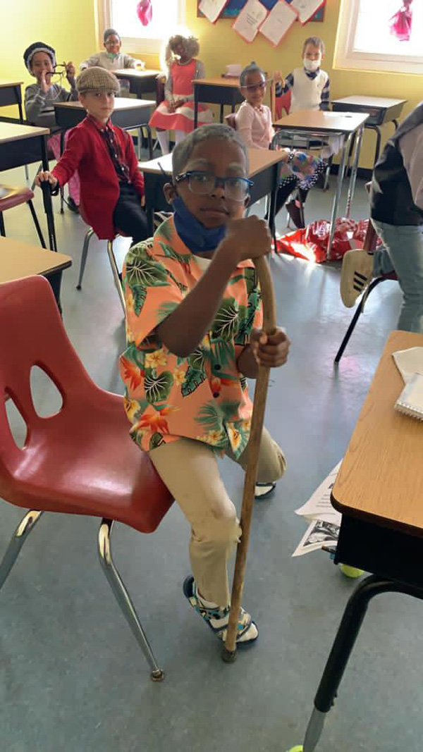 SGPS Celebrates 100 Days Of School   Bermuda March 2021 (30)