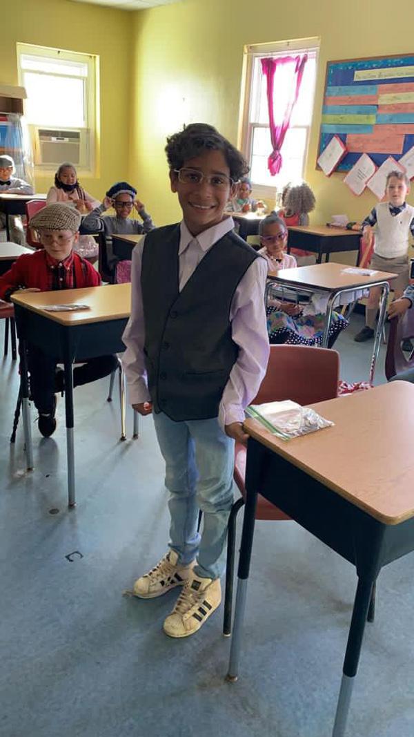 SGPS Celebrates 100 Days Of School   Bermuda March 2021 (31)