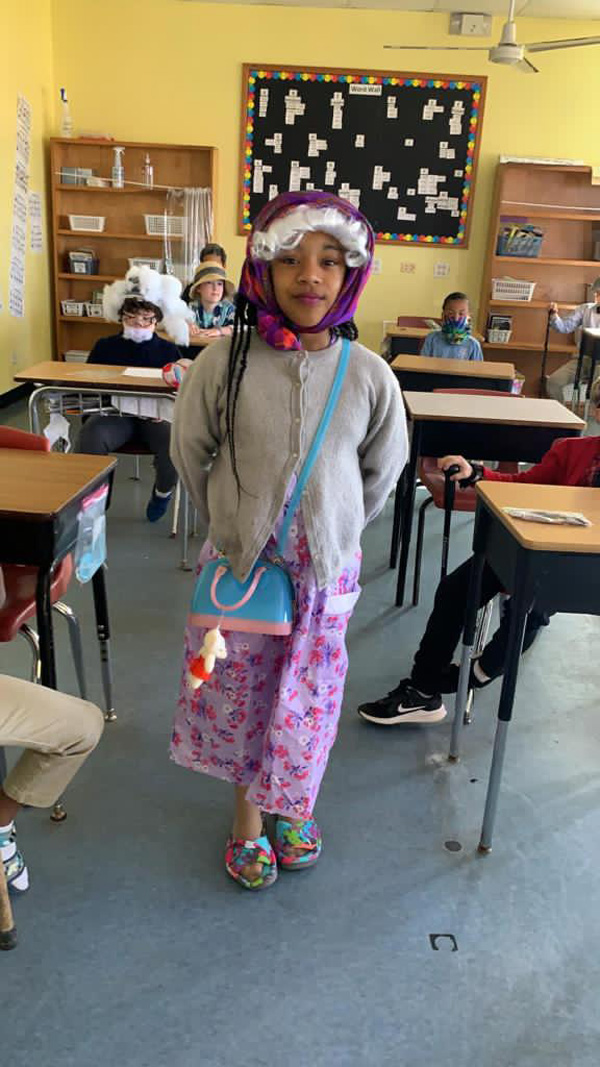 SGPS Celebrates 100 Days Of School   Bermuda March 2021 (32)