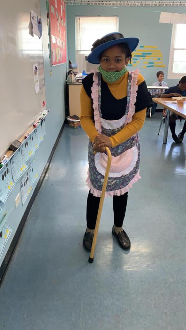 SGPS Celebrates 100 Days Of School   Bermuda March 2021 (37)