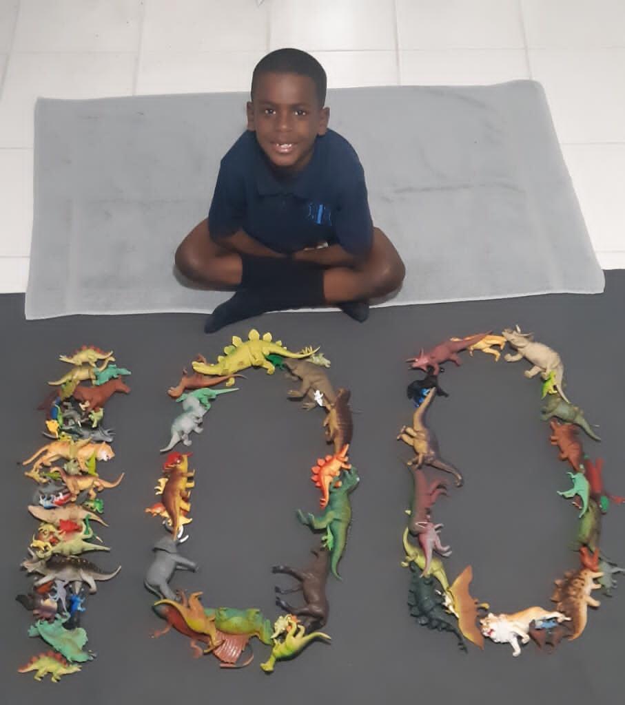 SGPS Celebrates 100 Days Of School   Bermuda March 2021 (4)