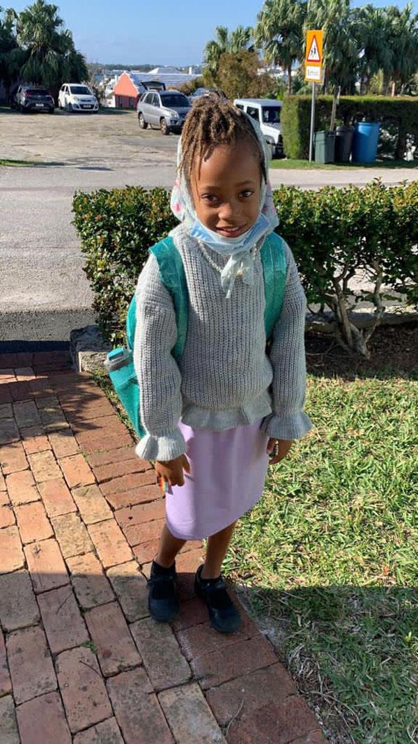 SGPS Celebrates 100 Days Of School   Bermuda March 2021 (42)