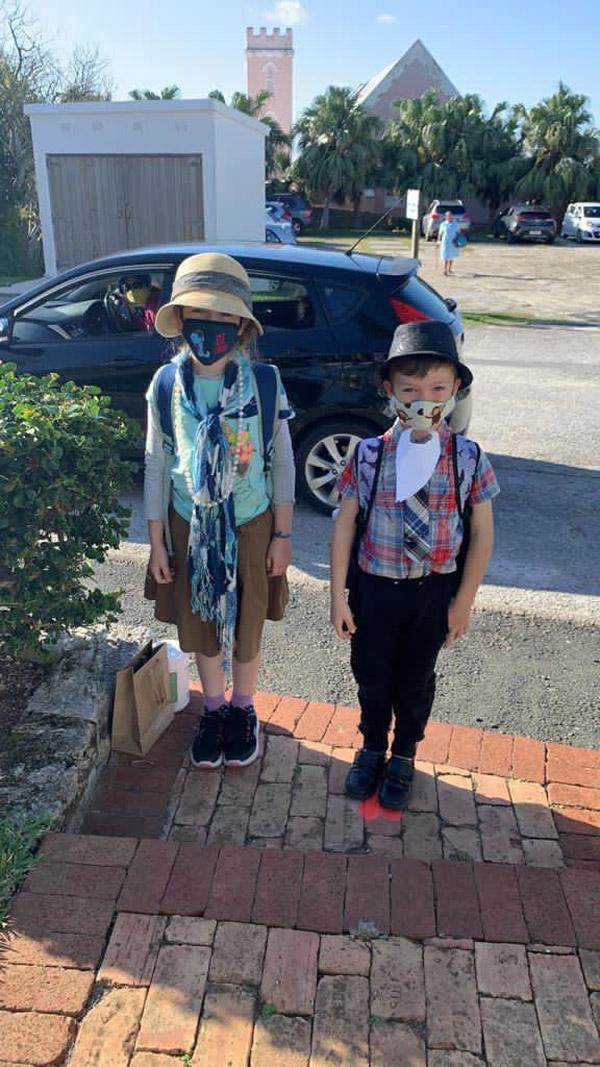 SGPS Celebrates 100 Days Of School   Bermuda March 2021 (49)