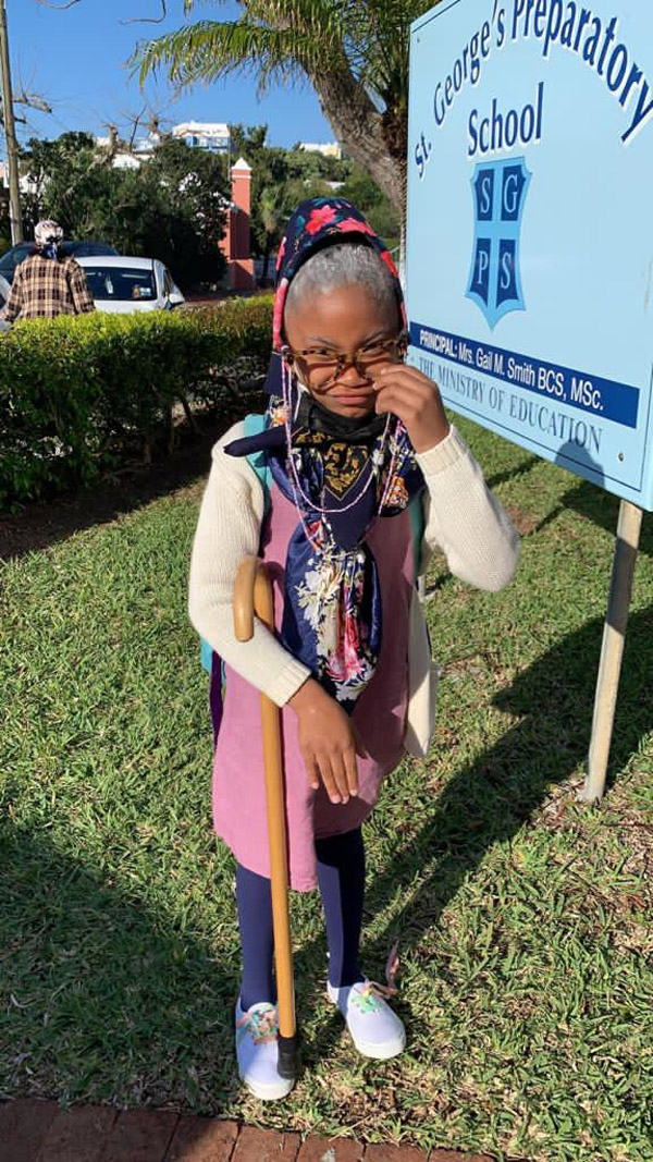 SGPS Celebrates 100 Days Of School   Bermuda March 2021 (51)