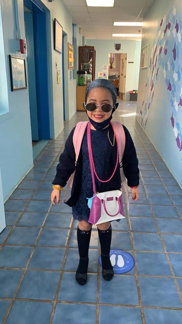 SGPS Celebrates 100 Days Of School   Bermuda March 2021 (53)