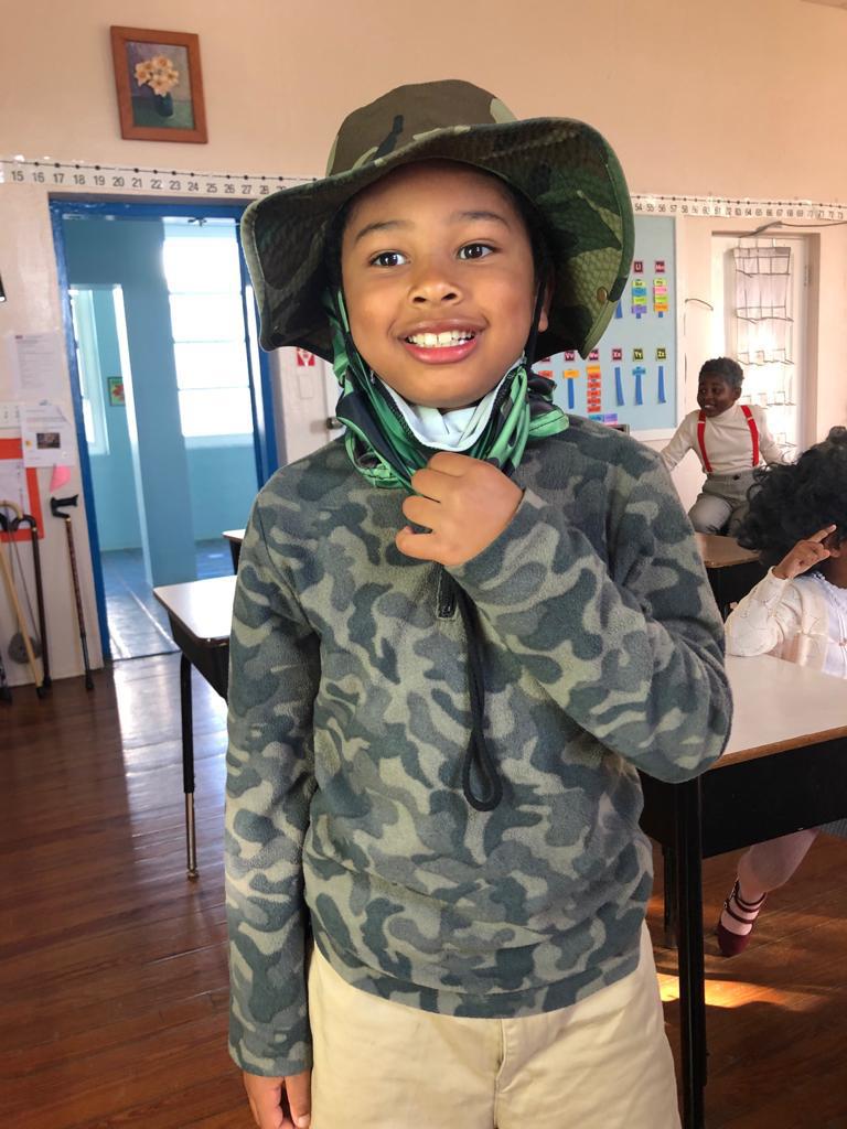 SGPS Celebrates 100 Days Of School   Bermuda March 2021 (58)