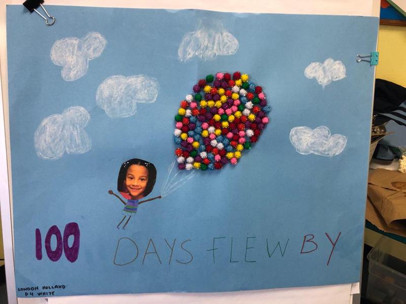 SGPS Celebrates 100 Days Of School   Bermuda March 2021 (6)