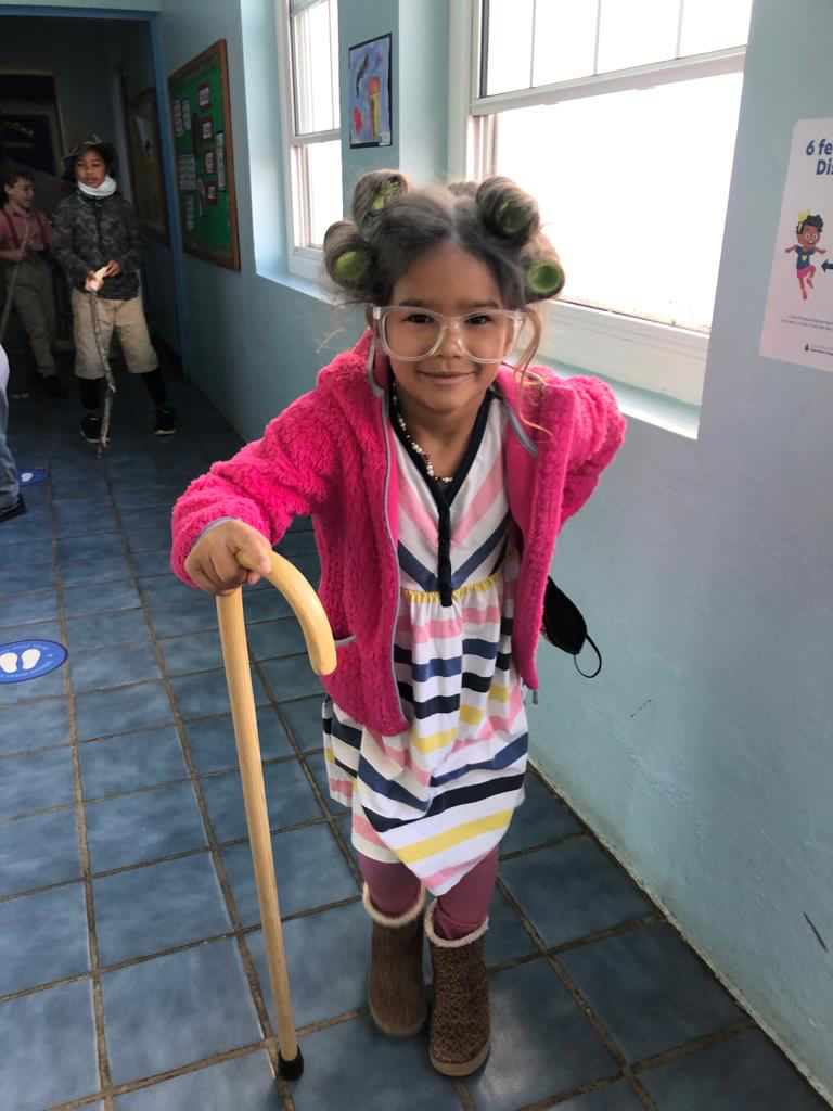 SGPS Celebrates 100 Days Of School   Bermuda March 2021 (60)