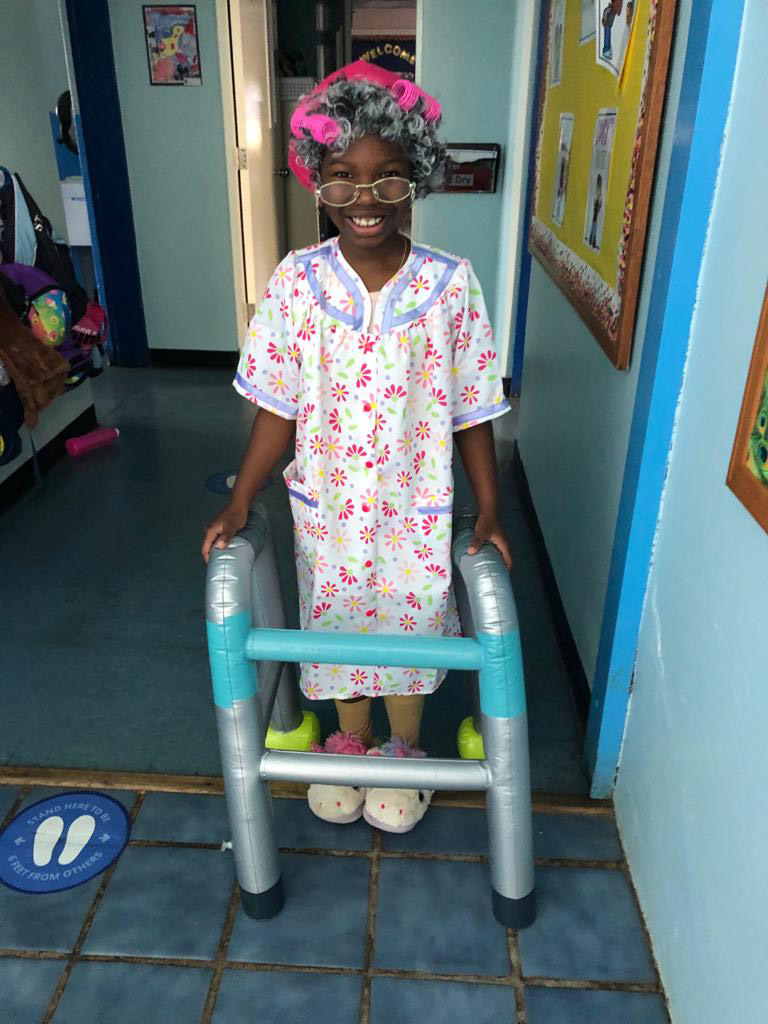SGPS Celebrates 100 Days Of School   Bermuda March 2021 (62)
