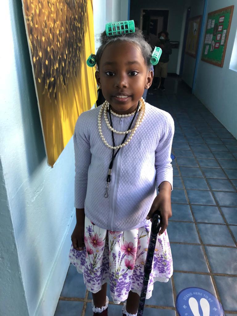 SGPS Celebrates 100 Days Of School   Bermuda March 2021 (64)
