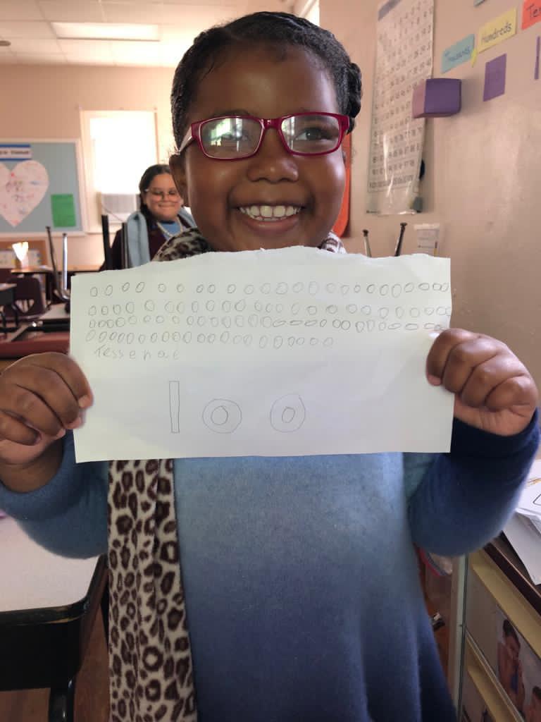SGPS Celebrates 100 Days Of School   Bermuda March 2021 (65)