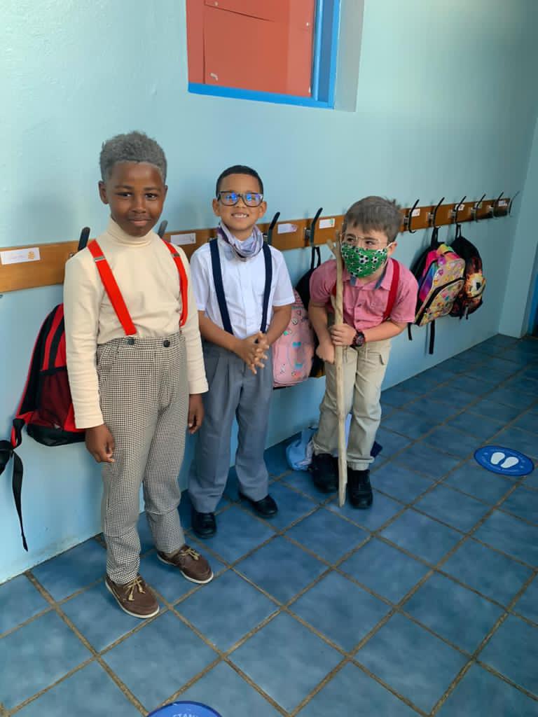 SGPS Celebrates 100 Days Of School   Bermuda March 2021 (69)