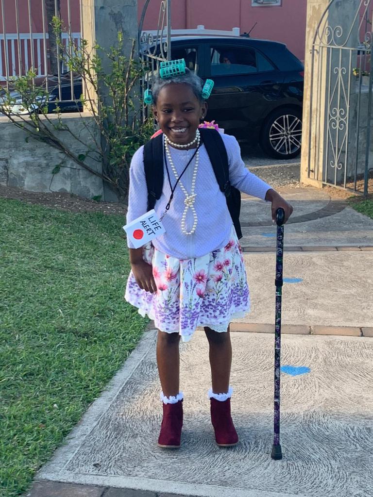SGPS Celebrates 100 Days Of School   Bermuda March 2021 (84)