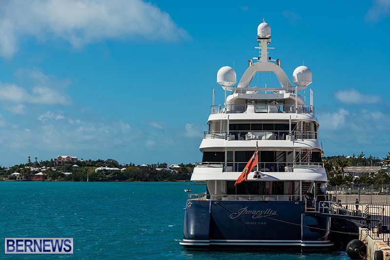 Super Yacht Amaryllis Bermuda March 2021 1