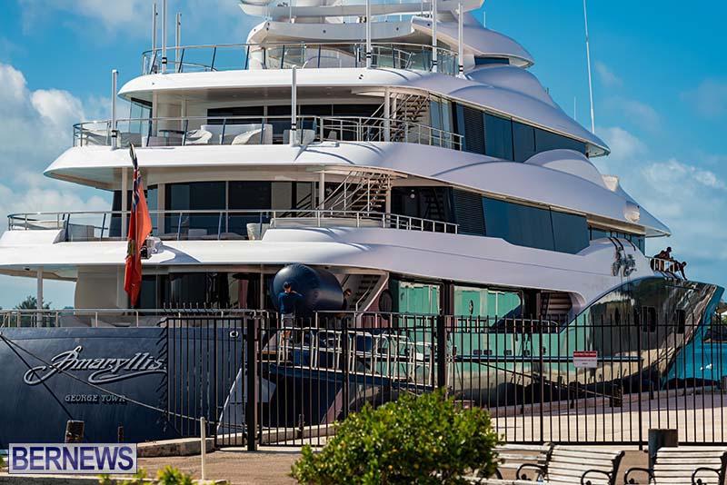 Super Yacht Amaryllis Bermuda March 2021 2