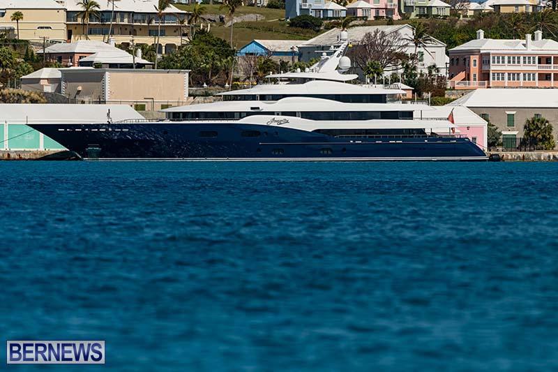 Super Yacht Amaryllis Bermuda March 2021 3