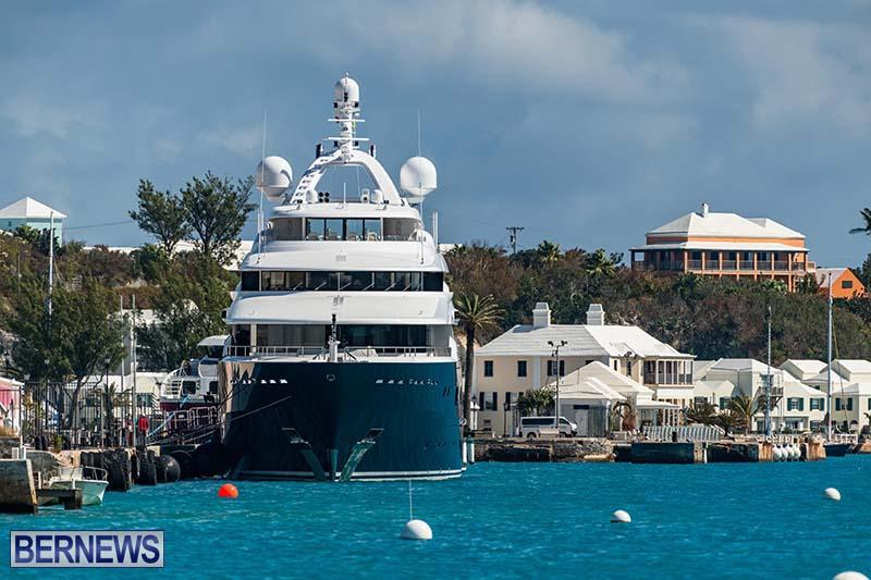 Super Yacht Amaryllis Bermuda March 2021 5