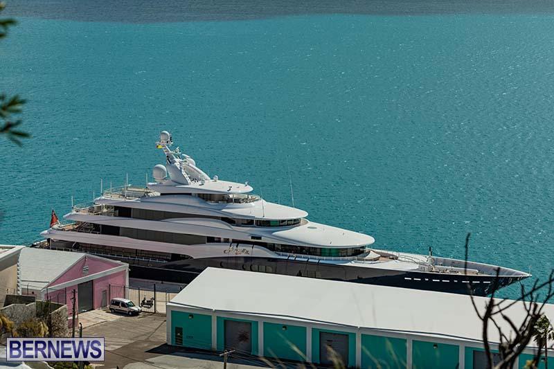 Super Yacht Amaryllis Bermuda March 2021 6