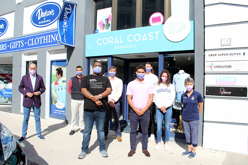 Team Bermuda Masks For Sale At Coral Coast March 2021 1