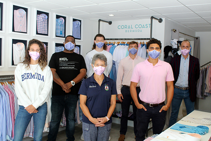 Team Bermuda Masks For Sale At Coral Coast March 2021 2