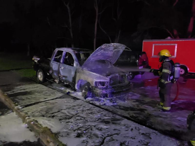 Vehicle Fire Bermuda March 20 2021