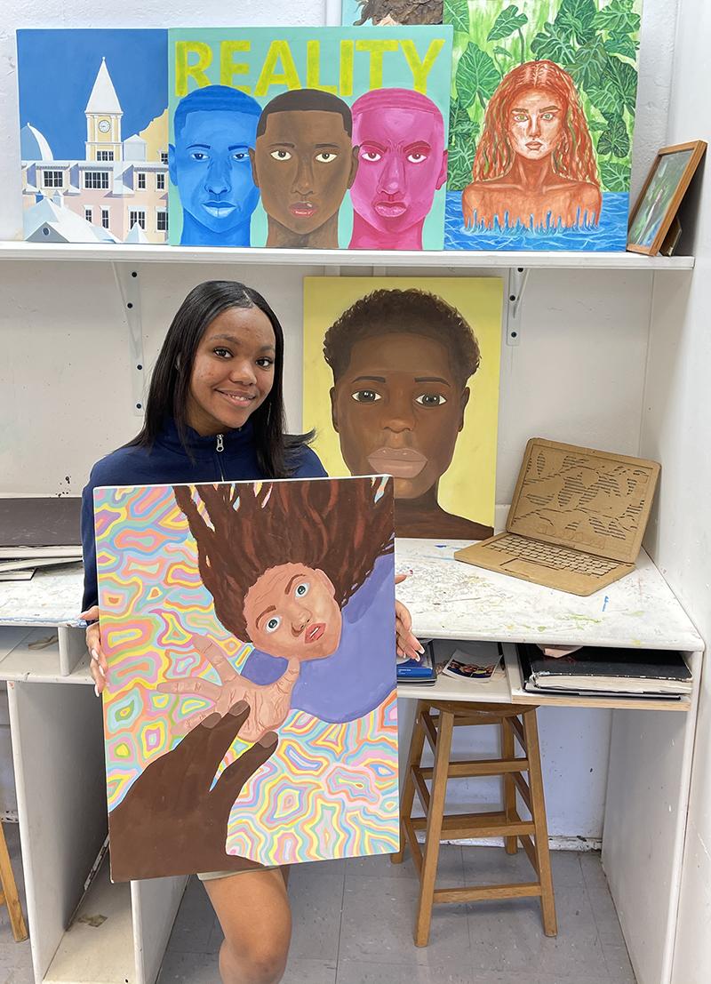 Warwick Academy Art Exhibit Bermuda March 2021 1