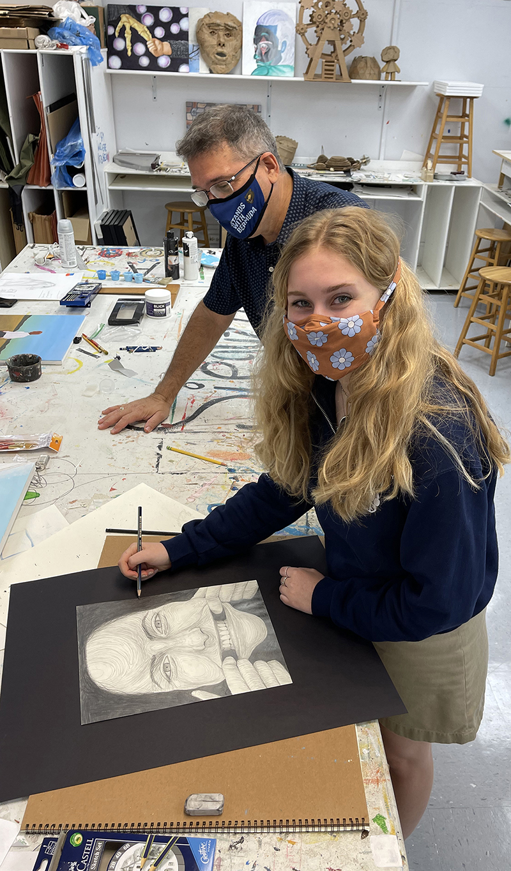 Warwick Academy Art Exhibit Bermuda March 2021 3