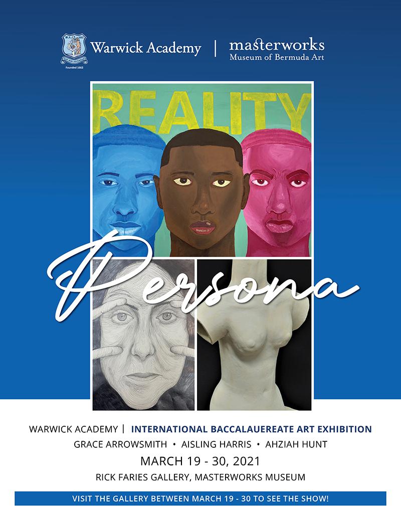 Warwick Academy Art Exhibit Bermuda March 2021