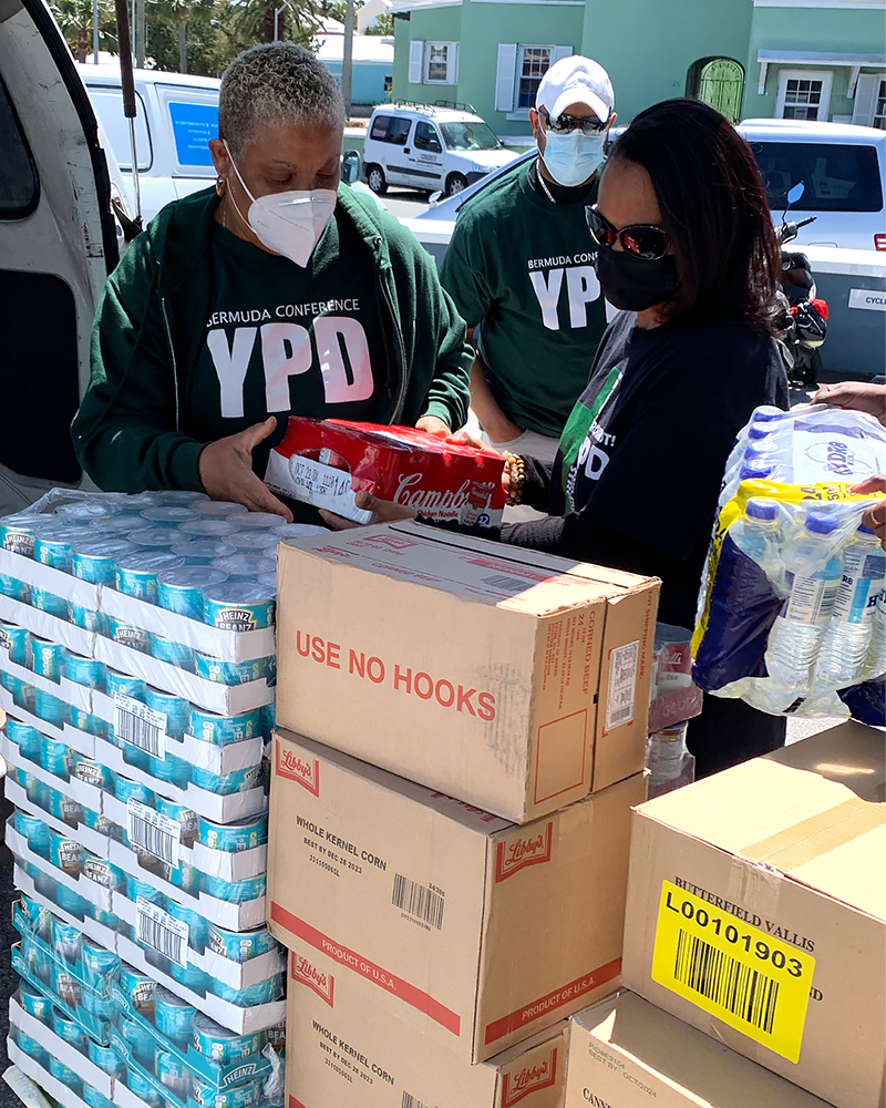 Ascendant Group Food Donation Bermuda April 2021 1