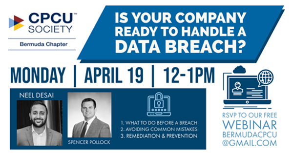 Bermuda CPCU Society Data Breach Webinar April 2021