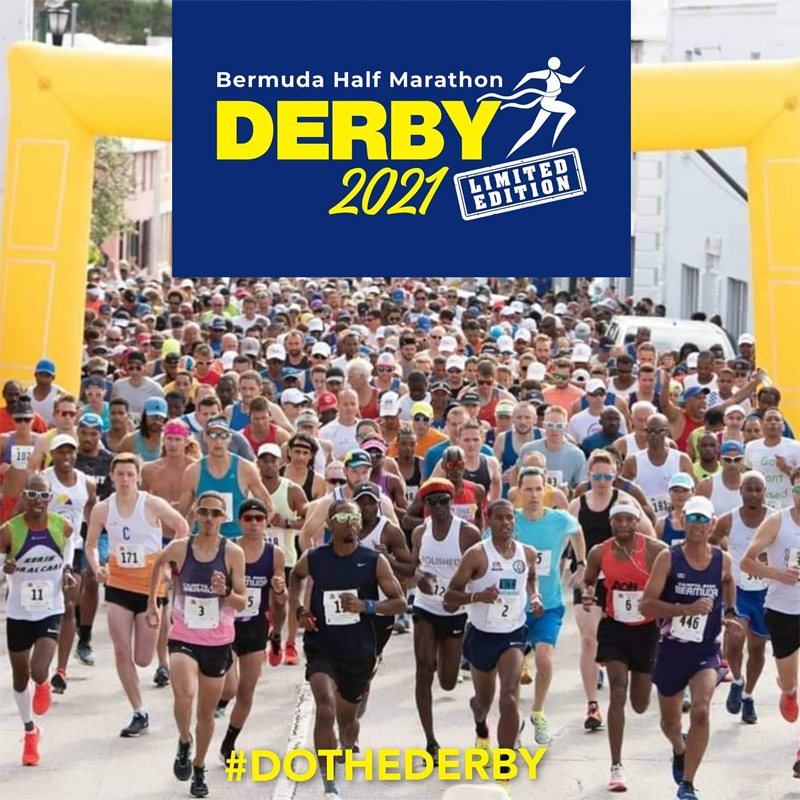 Bermuda Half Marathon Derby April 2021