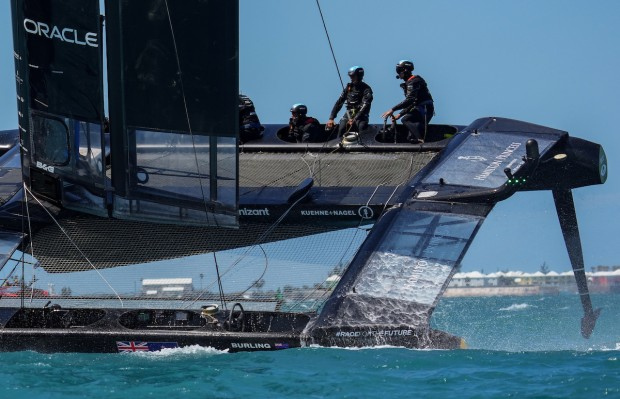 Bermuda SailGP sailing race presented by Hamilton Princess April 23 2021 (10)