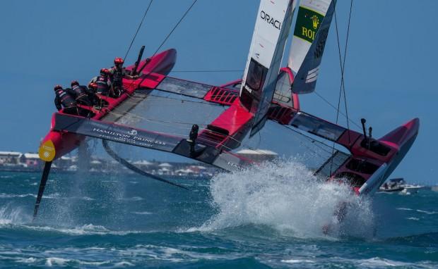 Bermuda SailGP sailing race presented by Hamilton Princess April 23 2021 (11)