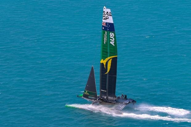 Bermuda SailGP sailing race presented by Hamilton Princess April 23 2021 (14)