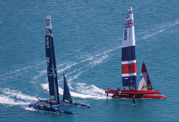 Bermuda SailGP sailing race presented by Hamilton Princess April 23 2021 (15)