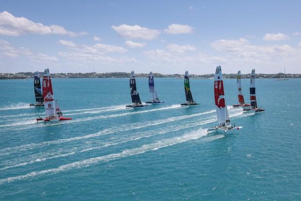 Bermuda SailGP sailing race presented by Hamilton Princess April 23 2021 (16)