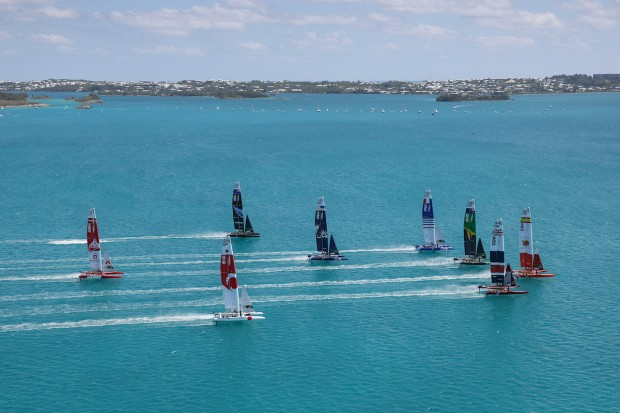 Bermuda SailGP sailing race presented by Hamilton Princess April 23 2021 (17)