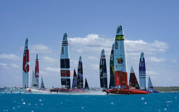 Bermuda SailGP sailing race presented by Hamilton Princess April 23 2021 (18)