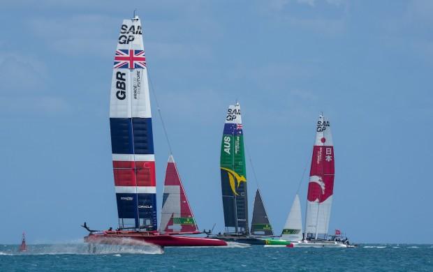 Bermuda SailGP sailing race presented by Hamilton Princess April 23 2021 (2)