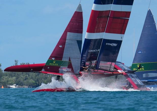 Bermuda SailGP sailing race presented by Hamilton Princess April 23 2021 (21)