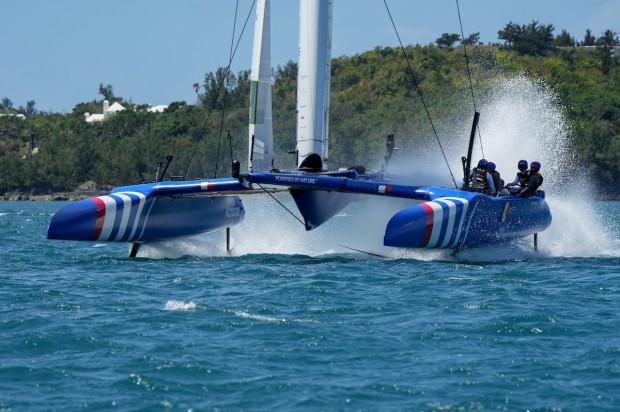 Bermuda SailGP sailing race presented by Hamilton Princess April 23 2021 (3)