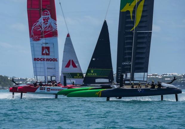 Bermuda SailGP sailing race presented by Hamilton Princess April 23 2021 (5)
