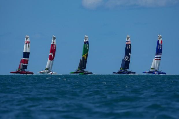 Bermuda SailGP sailing race presented by Hamilton Princess April 23 2021 (7)