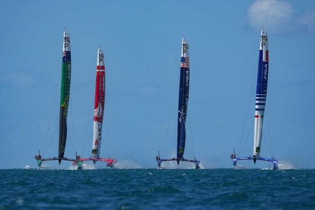 Bermuda SailGP sailing race presented by Hamilton Princess April 23 2021 (8)