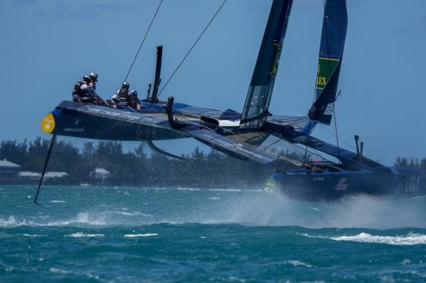 Bermuda SailGP sailing race presented by Hamilton Princess April 23 2021 (9)