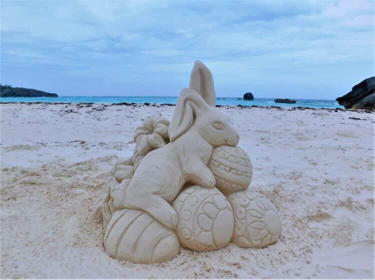 Bermuda Sandcastle Competition Easter Bermuda April 3 2021 (1)